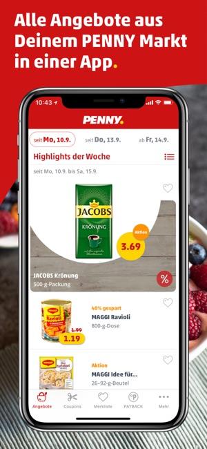Penny Coupons Angebote Di App Store