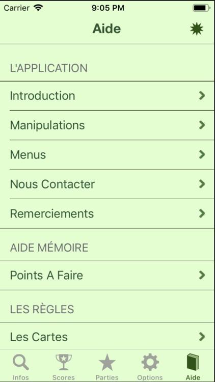 Jeu de Tarot Pro screenshot-6