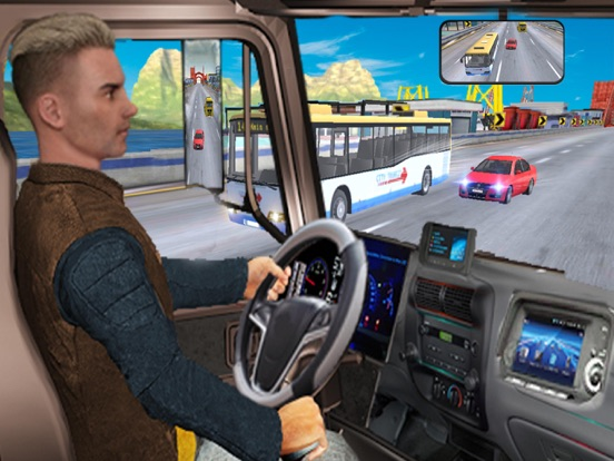 Real Truck Driver In Highway screenshot 6