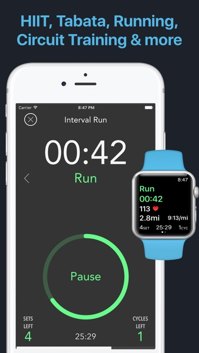Intervals - HIIT Workout Timer App Revisión - Health
