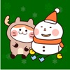 Snowman and Cat at Christmas