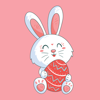 Happy Easter Day New Sticker