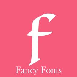 Fancy Fonts custom keyboard