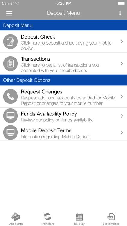 Palo Savings Bank Mobile screenshot-3