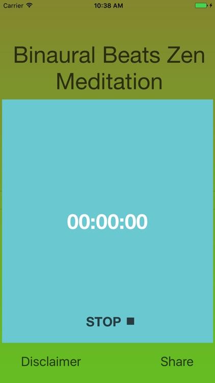 Binaural Beats Zen Meditation screenshot-3