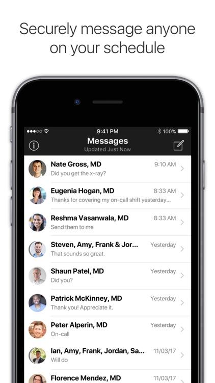 Amion - Physician Scheduling screenshot-3