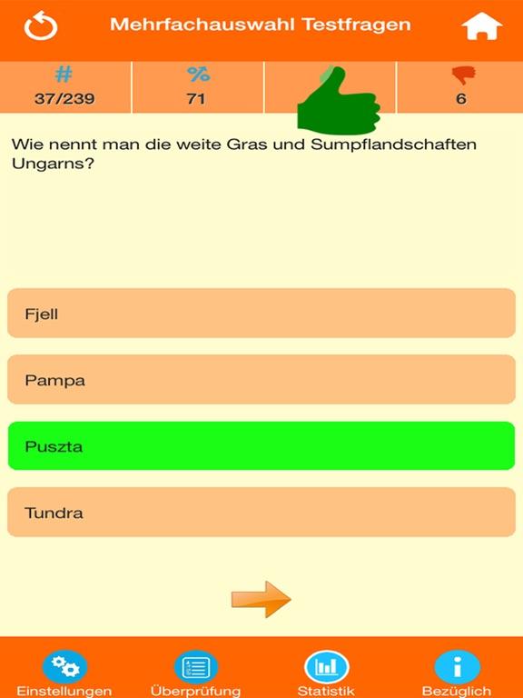 Geographie Europas Quiz screenshot 7