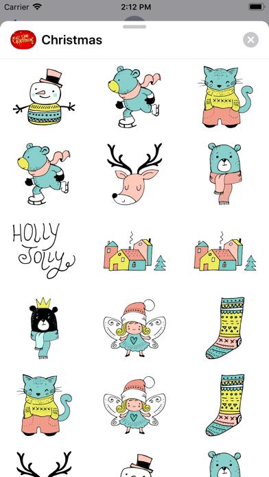Reindeer & Winter Christmas IM screenshot one