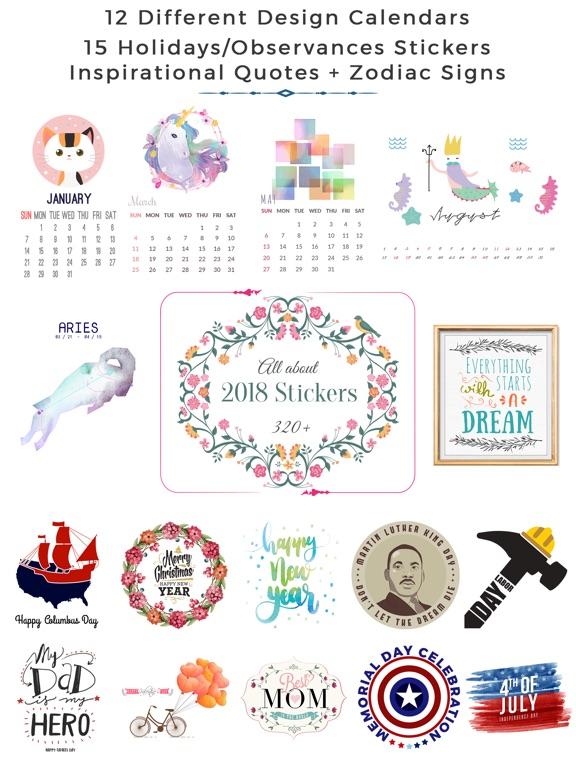 2018 Calendar & Celebrations screenshot 6