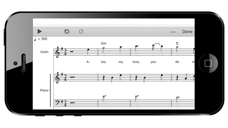 Score Creator: compose music screenshot-3