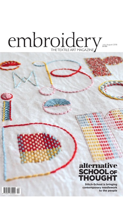Embroidery Magazine.