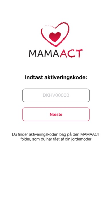 Screenshot for MAMAACT in Denmark App Store