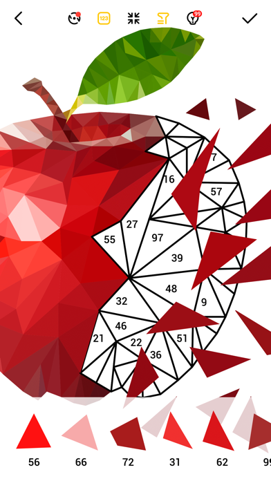 LoPoly –  Puzzle art game Screenshot