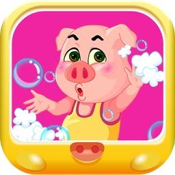 粉红小猪爱干净