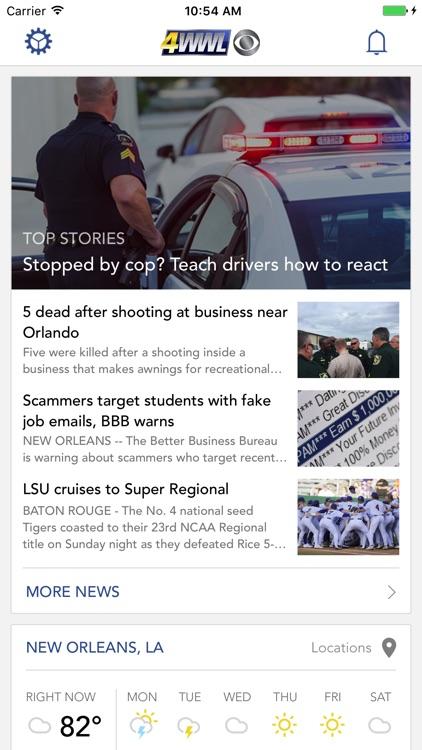 WWL-TV New Orleans News