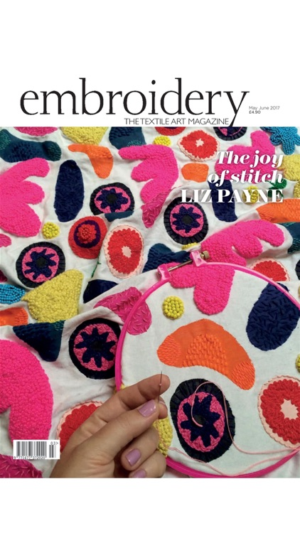 Embroidery Magazine – from the Embroiderers Guild
