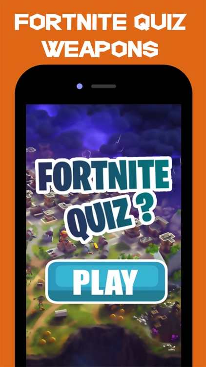 Quiz For Fortnite : Weapons