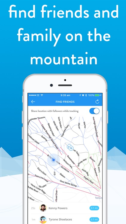snoww: ski & snowboard tracker screenshot-5