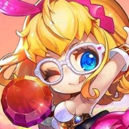 Cute candy-cool fun rush