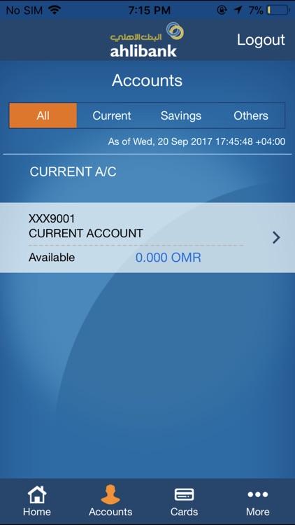 Ahlibank M-Bank screenshot-4