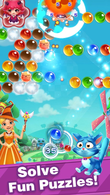 Bubble Shooter-New Pop Bubbles screenshot-0