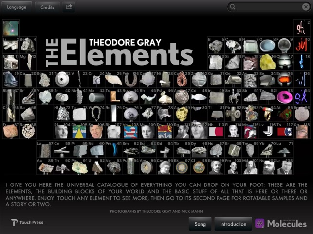 The elements by theodore gray on the app store urtaz Choice Image