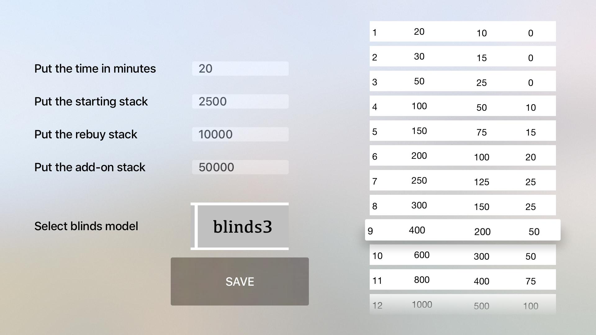 Poker Timer TV screenshot 5