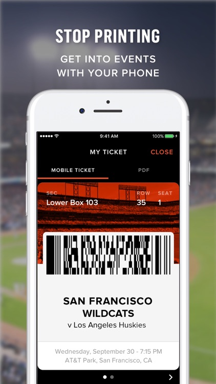Gametime · Tickets to Sports, Concerts, & Theater screenshot-3