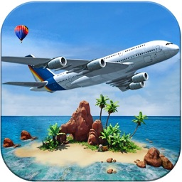 Island Plane Flight Simulator