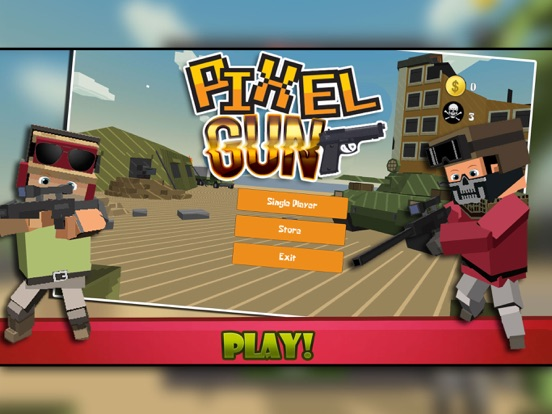 download pixel gun 3d game