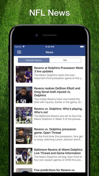 Football Schedule for NFL screenshot-6