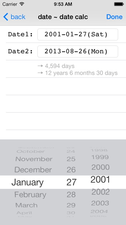 DateCalcMemo ~ how many days screenshot-3