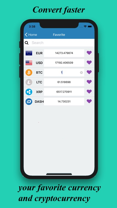 Screenshot for Converter Cryptocurrency in Czech Republic App Store