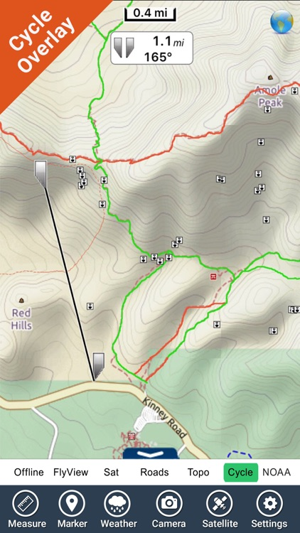 Saguaro National Park - GPS Map Navigator screenshot-2