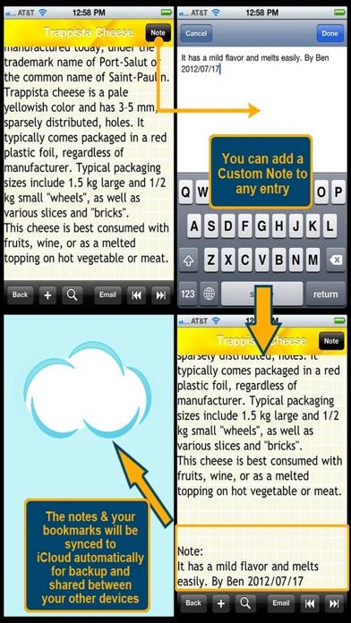 World Cheese Encyclopedia screenshot one
