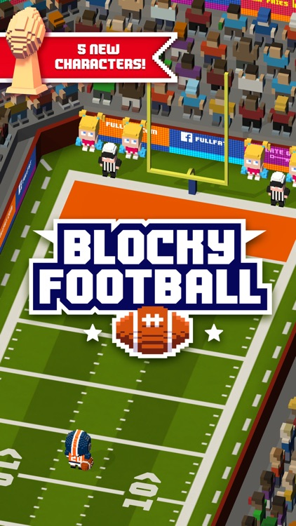 Blocky Football screenshot-0