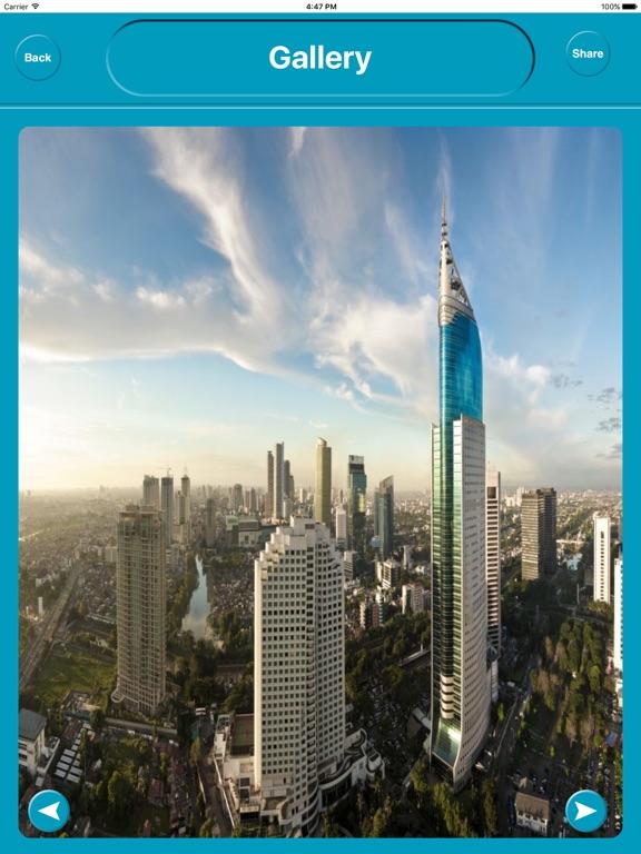 Jakarta Indonesia Offline City Maps Navigation iPad