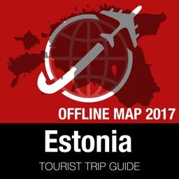 Estonia Tourist Guide + Offline Map