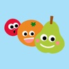 、Animated Fruit Combo Stickers