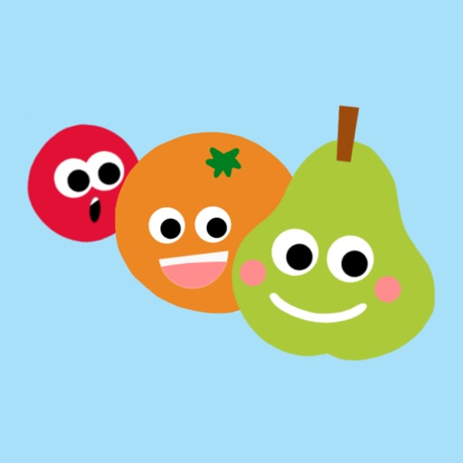 Animated Fruit Combo Stickers