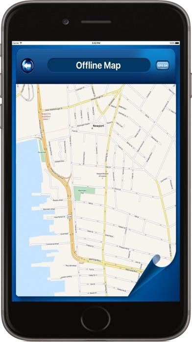 Newport Rhode Island - Offline Maps navigator screenshot one