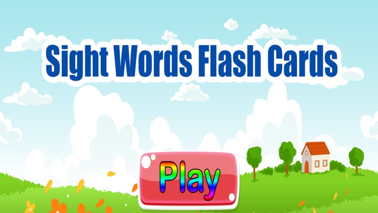 Sight Words Flash Cards Eng