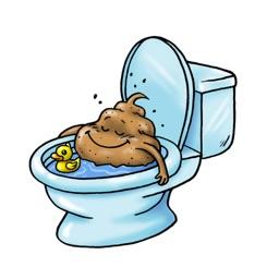EEK The Pop Poop stickers by doddis77