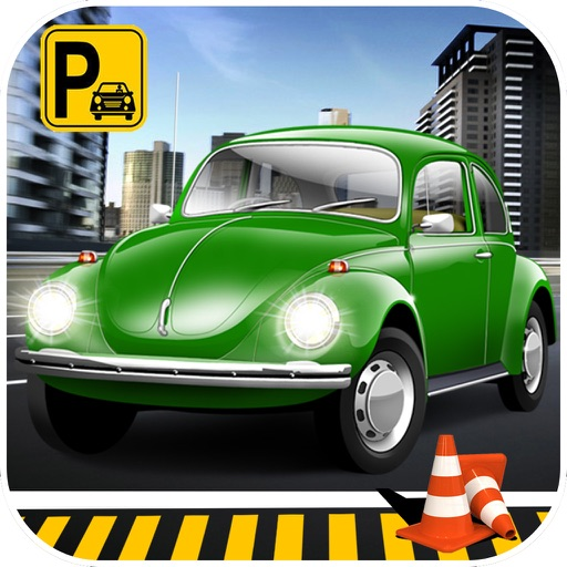 Classic Car Parking Simulator 2016 icon