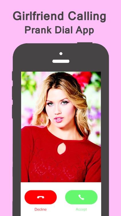 Fake Girlfriend Calling Joke - #1 Prank Dial App screenshot-3