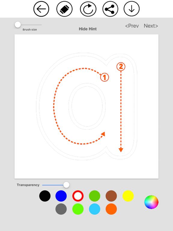 ABC Alphabet & Number Coloring screenshot 9