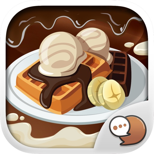 Chocolate Emoticons Sticker for iMessage ChatStick iOS App