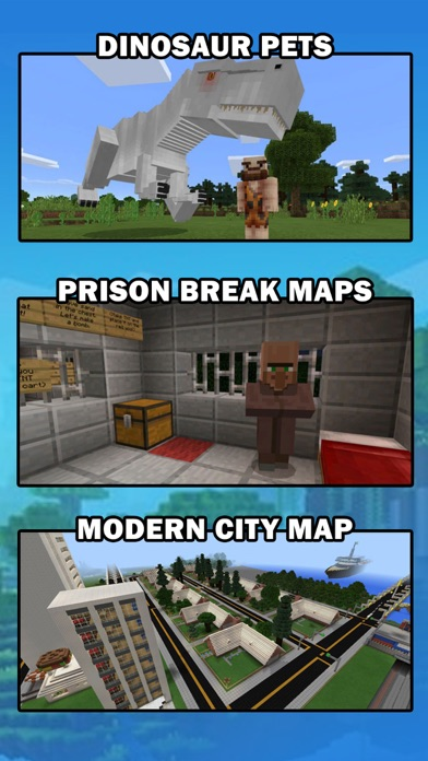 MCPE Add Ons - free maps & addons for Minecraft PE iOS