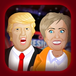 Makeup Hair Games:Trump VS Clinton