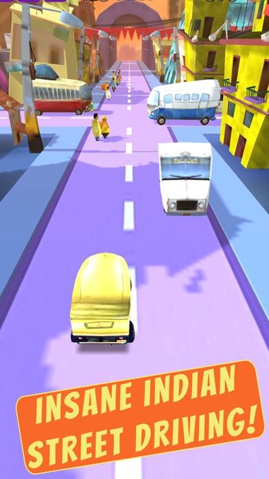 Bangalore Auto :Crazy Indian Driving Madness screenshot two